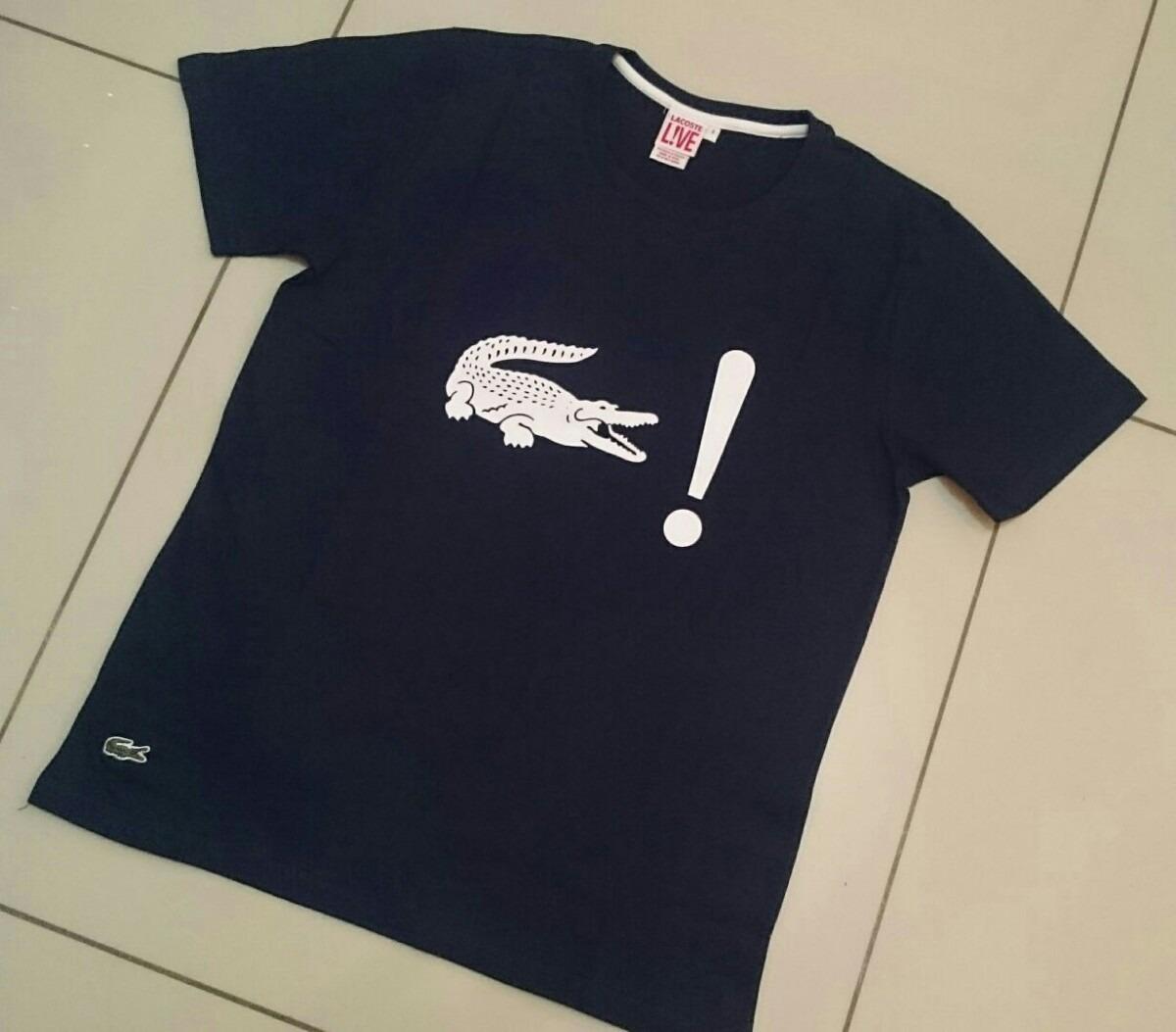 Camisetas Lacoste Live Lançamento Peruanas - R  69,90 em Mercado Livre 83b6094f44
