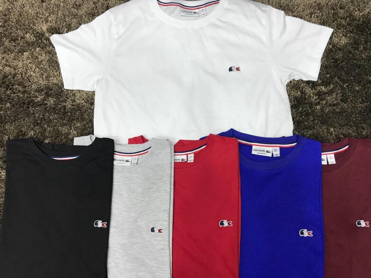 59171c9336 ... camisetas lacoste originais-100% algodão pima-atacado 12 pçs. Carregando  zoom. ...