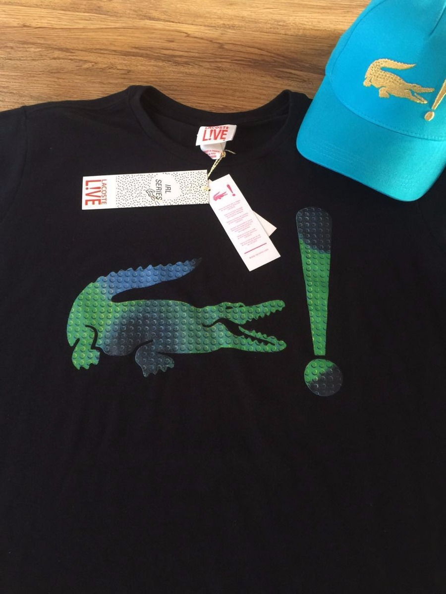 58527abdeb3 camisetas lacoste original live importada. Carregando zoom.
