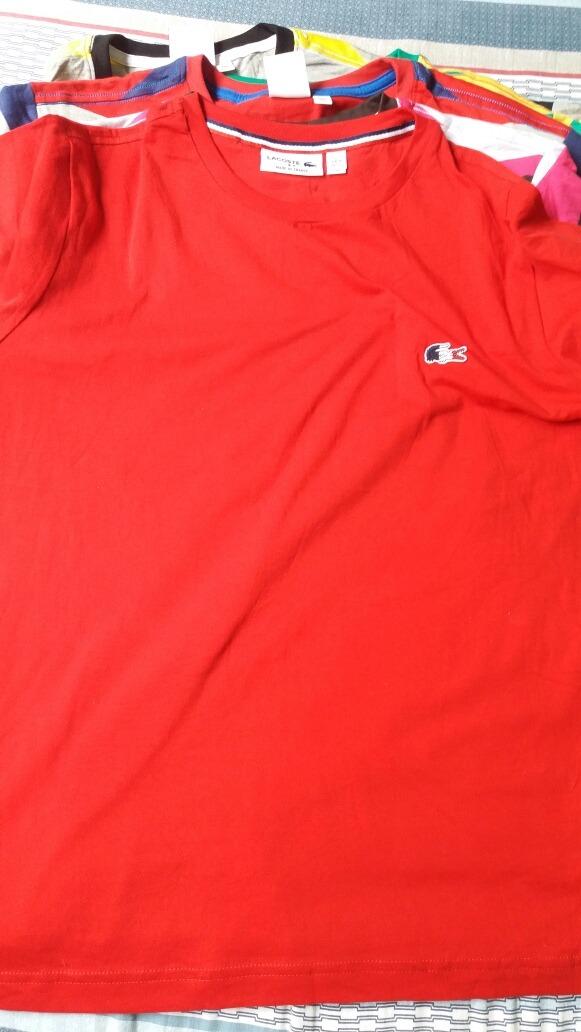 93bb009b86d38 camisetas lacoste original peruana. Carregando zoom.