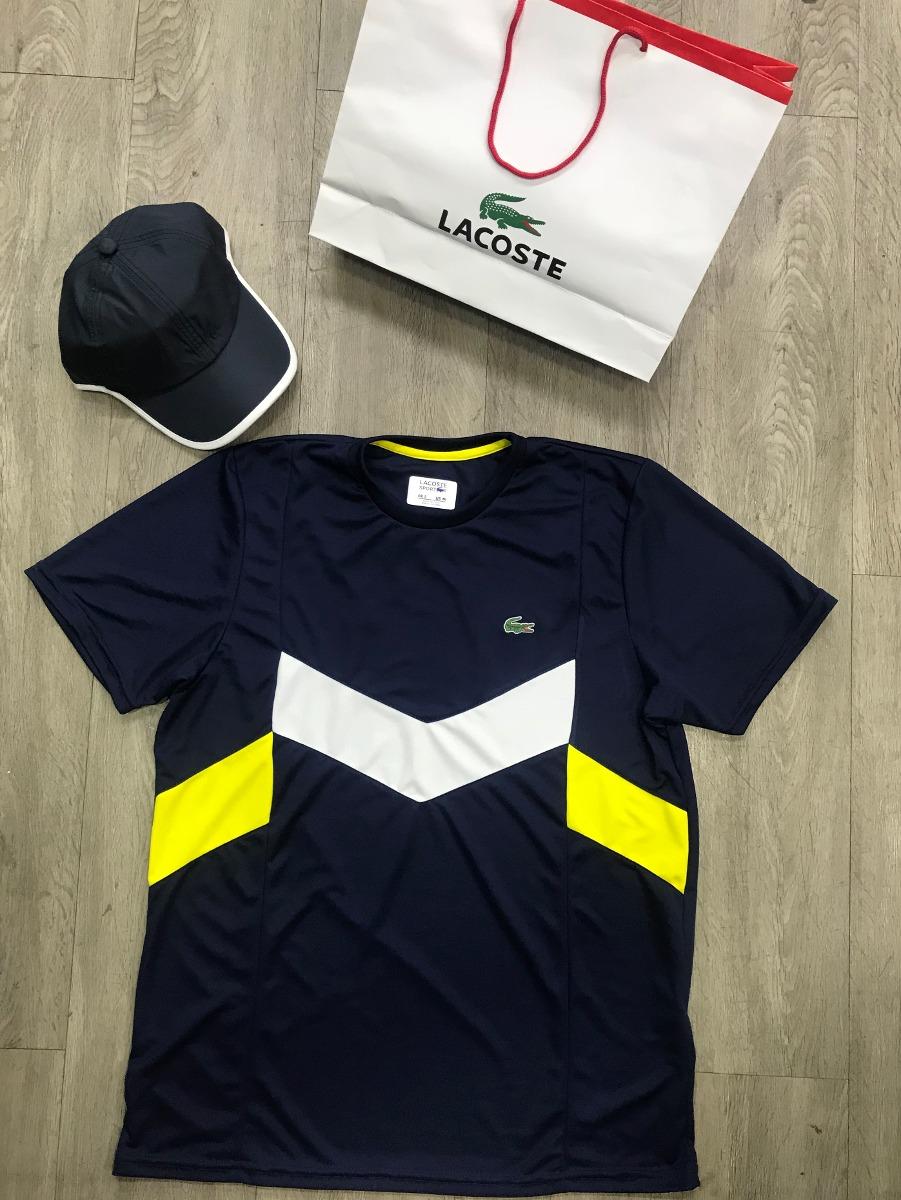 fd9b8ddf361 camisetas lacoste sport. Carregando zoom.