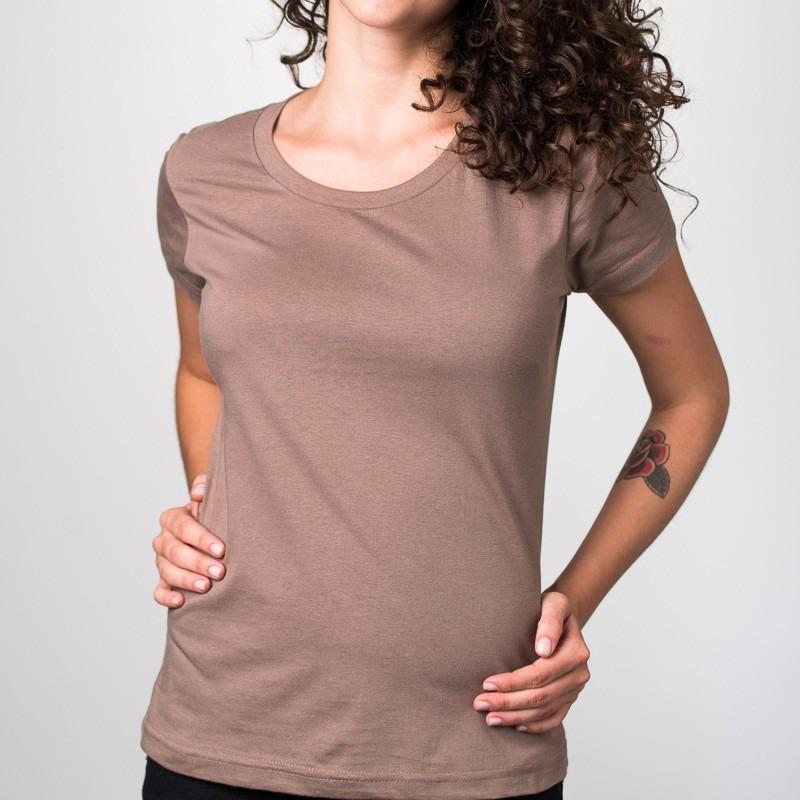 33f5cb8526a51 camisetas lisas feminina - coloridas - 100% algodão. Carregando zoom.
