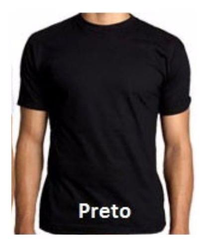 camisetas malha fria camisa (pv) excelente p/estampas 12 un.