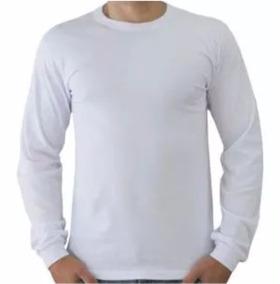 3b87867e5e Camiseta De Malha Fria Manga Longa Preta Barata - Calçados