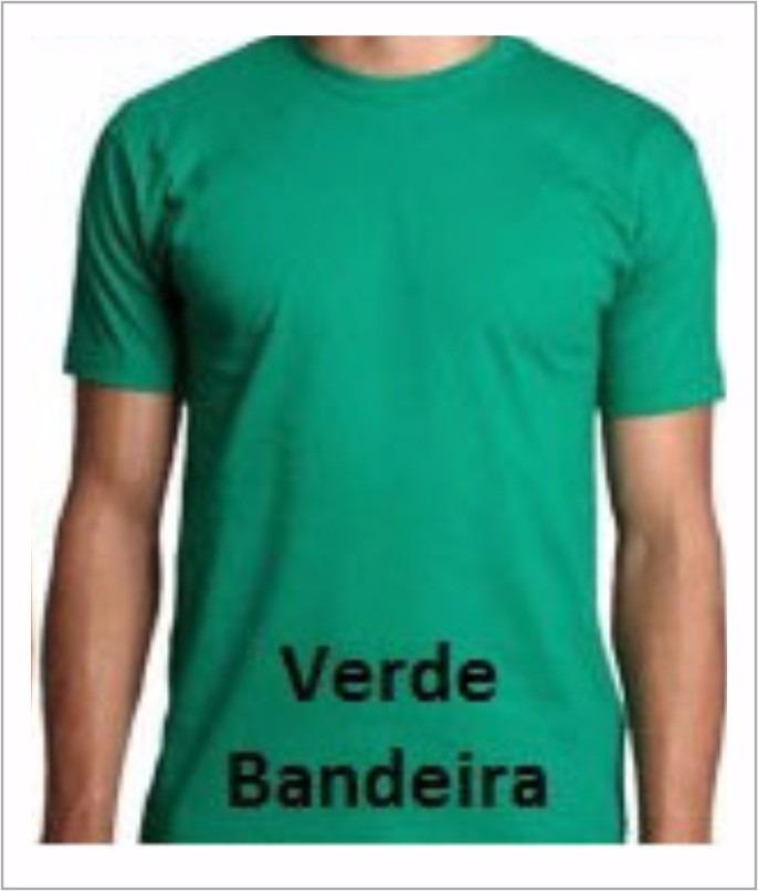 camisetas malha fria (pv) cor verde 40 un. estampada 01 cor. Carregando  zoom. 18b61f72edae6