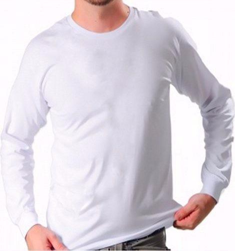 70198bb83a 10 Camisetas Manga Longa Manga Comprida 100% Poliéster - R  104