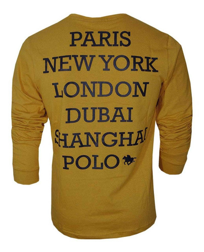 camisetas manga longa masculino com 05 unidades