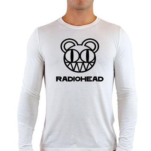 camisetas mangas longa radiohead