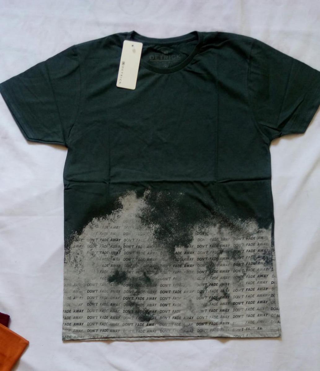 5a3d556e4025d Combo 3 Lindas Camisetas Estampadas Masc Ad Manga Curta - R  150