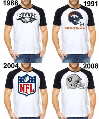 Camisetas Masculinas Futebol Americano Logo Nfl Football - R  36 da31d5757572f