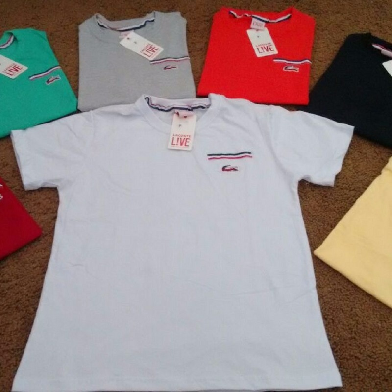 5c587c41636 camisetas masculinas lacoste hugo boss barata. Carregando zoom.