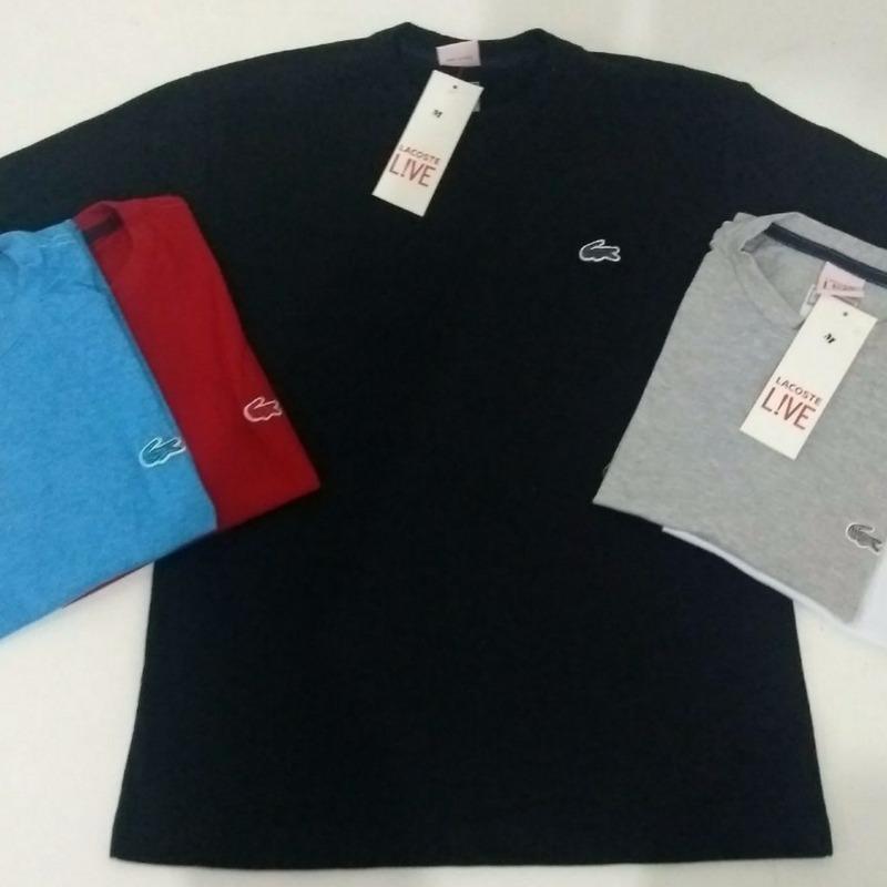 795e05a23e2 camisetas masculinas lacoste hugo boss barata. Carregando zoom.