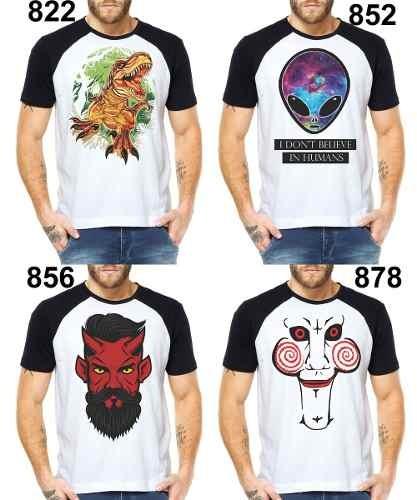 Camisetas Masculinas Punisher Justiceiro Camisas Anti-herói - R  29 ... 8b5f75cbf01