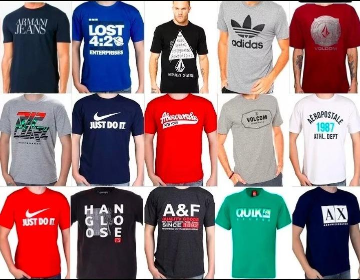 9990123ee Camisetas Masculinas Tamanho P - R  25