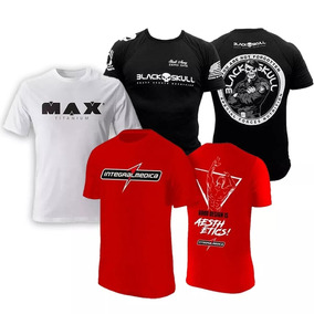 0ce24d6cd Kit 3x - Camisa Zyzz Vermelha + Bope + Regata Max