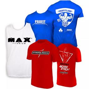 5c8bd217c Combo 3x - Camisa Zyzz + Azul Profit + Regata Max