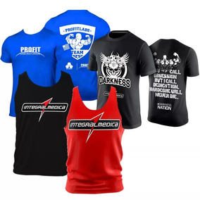 7a87ca2ec Regata Integralmedica - Camisetas Masculino de Fitness no Mercado Livre  Brasil