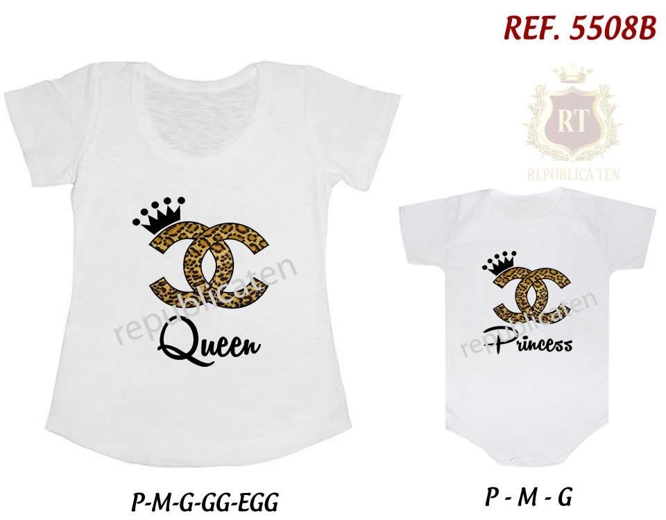 7dcaced2e2988 Camisetas Minnie Tal Mãe Tal Filha(o) T-shirt Body Kit - R  59