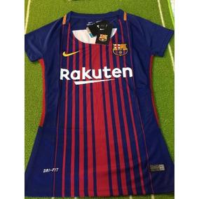 ecb3ab3bbbe25 Camiseta Barcelona Dama en Mercado Libre Colombia