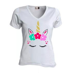 Camiseta Niña Unicornio Para Algodón Blusa Mujer Dama zGLqSVpUM