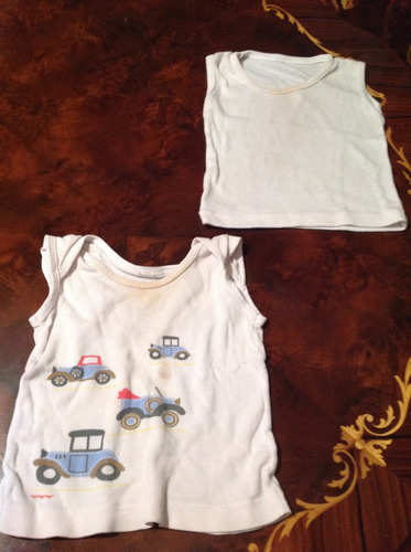 camisetas o guarda camisas para bebés 0-3 meses