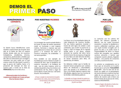 camisetas papa francisco