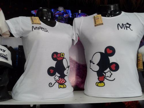 camisetas para parejas 13 $ cada una
