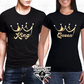 calidad confiable bien fuera x venta minorista Camisetas Para Parejas King And Queen Iconic Store