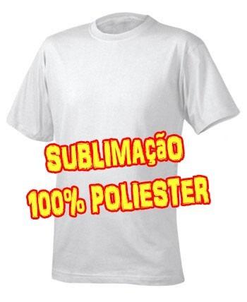 6dbc9c7869df Camisetas Para Sublimação 100% Poliéster Flame Atacado