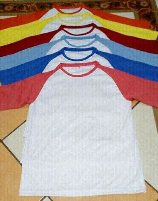 abd04a35c2b0f Camisetas Para Sublimar Manga Ranglan Para Adultos -   16.000 en ...