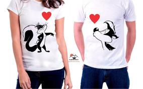 2020 alta calidad gama completa de artículos Camisetas Parejas Personalizadas Chrismont (2 Unidades)
