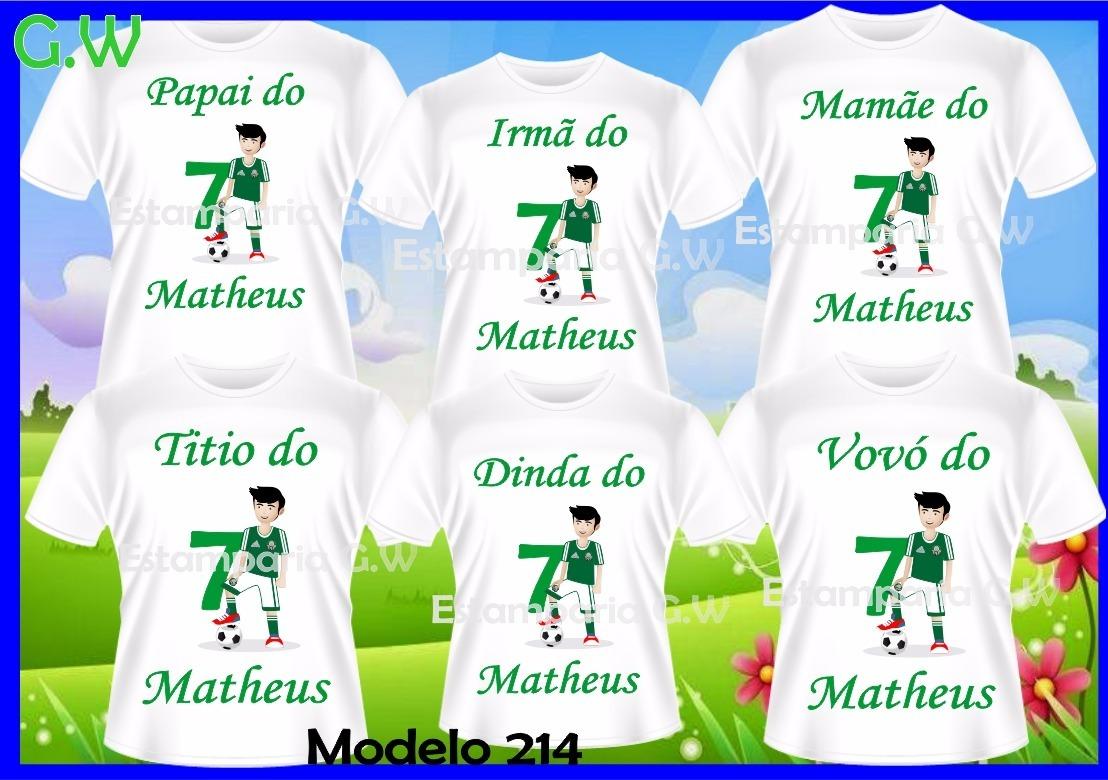 0593792de2 camisetas personalizada aniversario time futebol com  6. Carregando zoom.