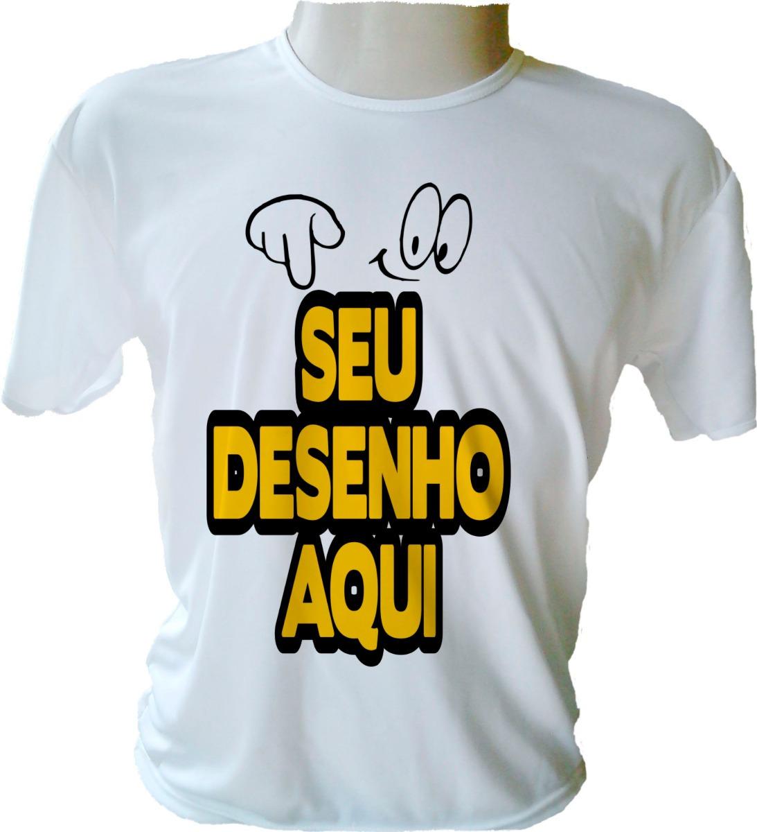 Camisetas Personalizada C  Sua Estampa 663a3ef35dabb