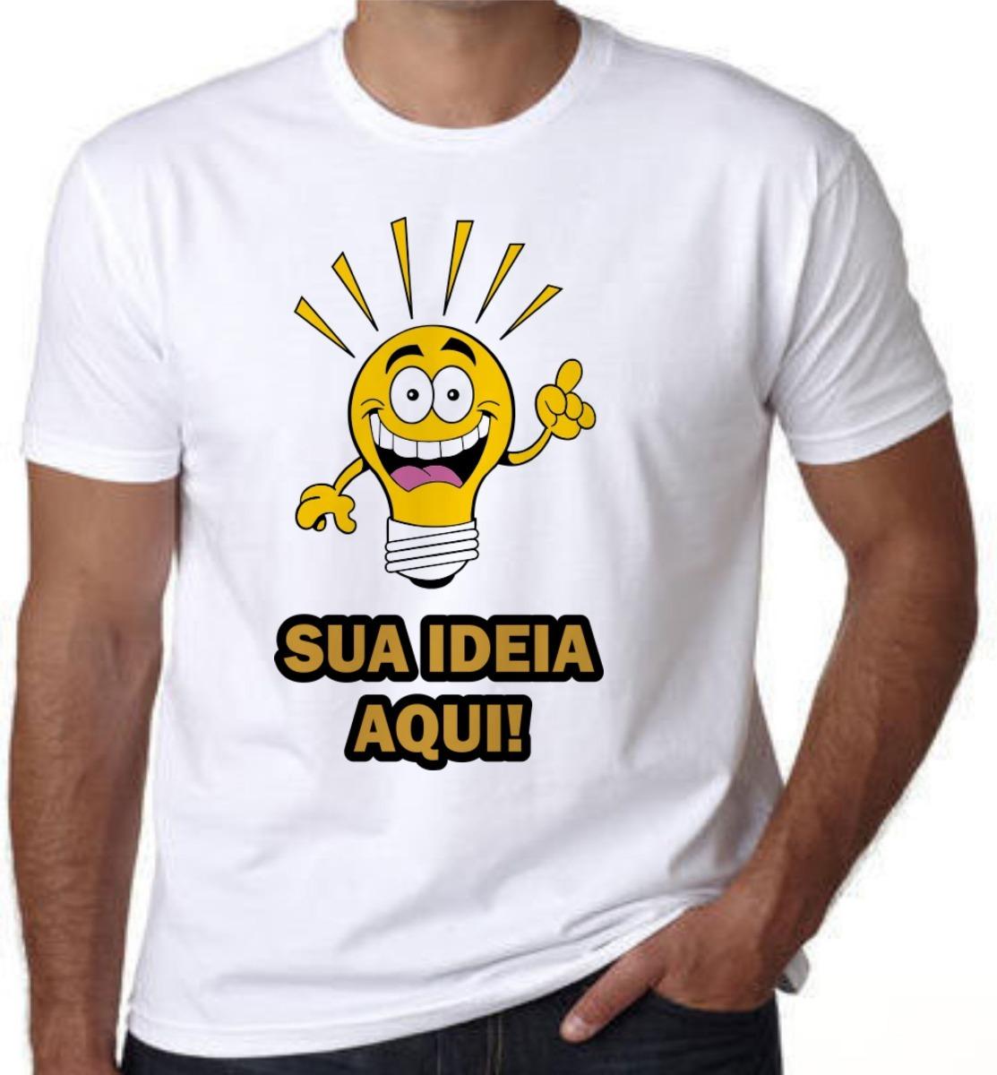 camisetas personalizadas - c  sua estampa adulto e infantil. Carregando  zoom. 734ca9aff03