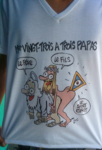 camisetas personalizadas charge charlie hebdo