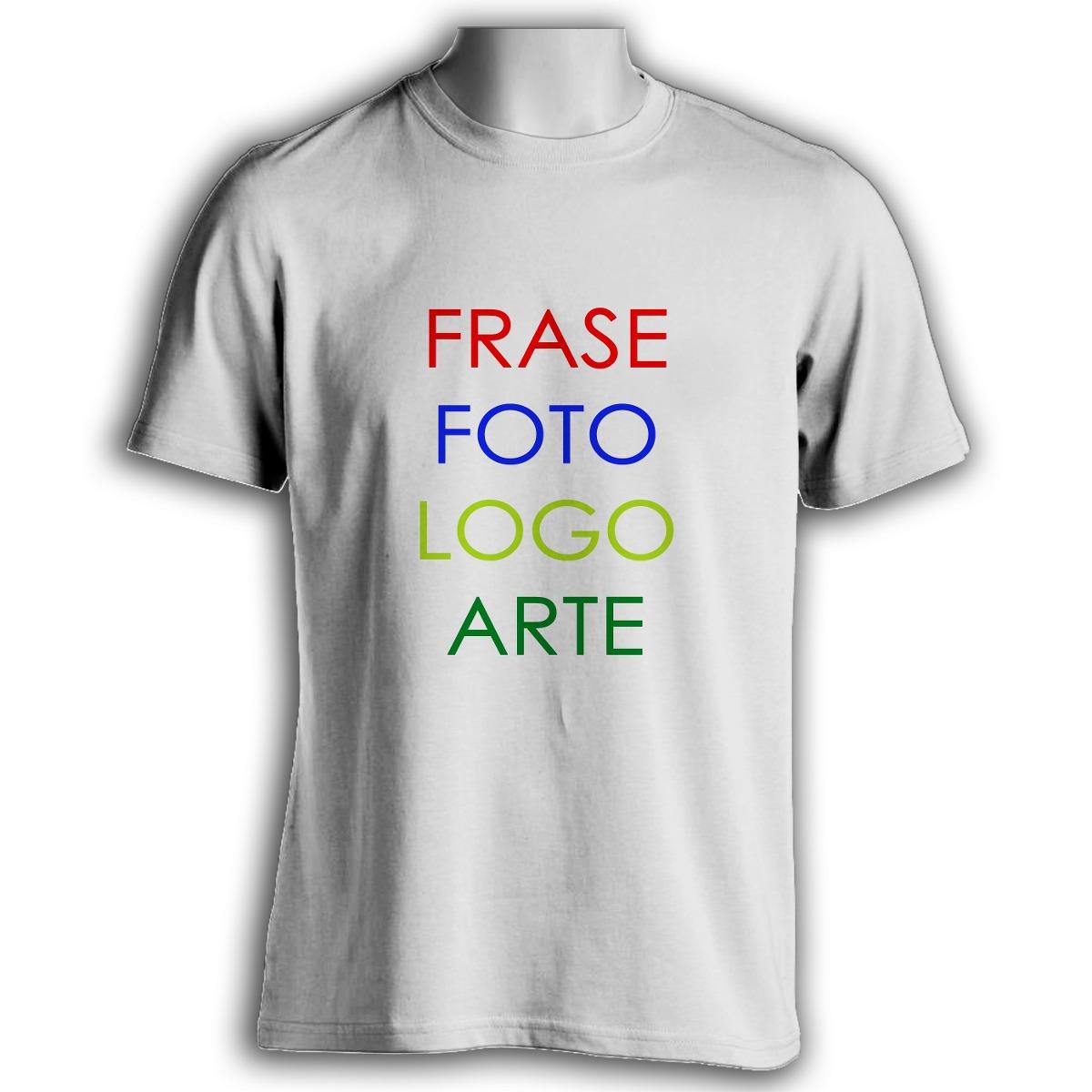 Camisetas Personalizadas - Coloque A Sua Estampa! - R  17 b38f473186a