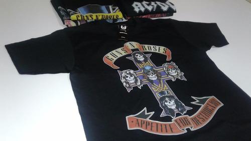 camisetas personalizadas de bandas de rock