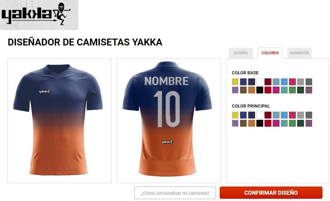 camisetas personalizadas de futbol yakka. Cargando zoom. 625b71100f31c