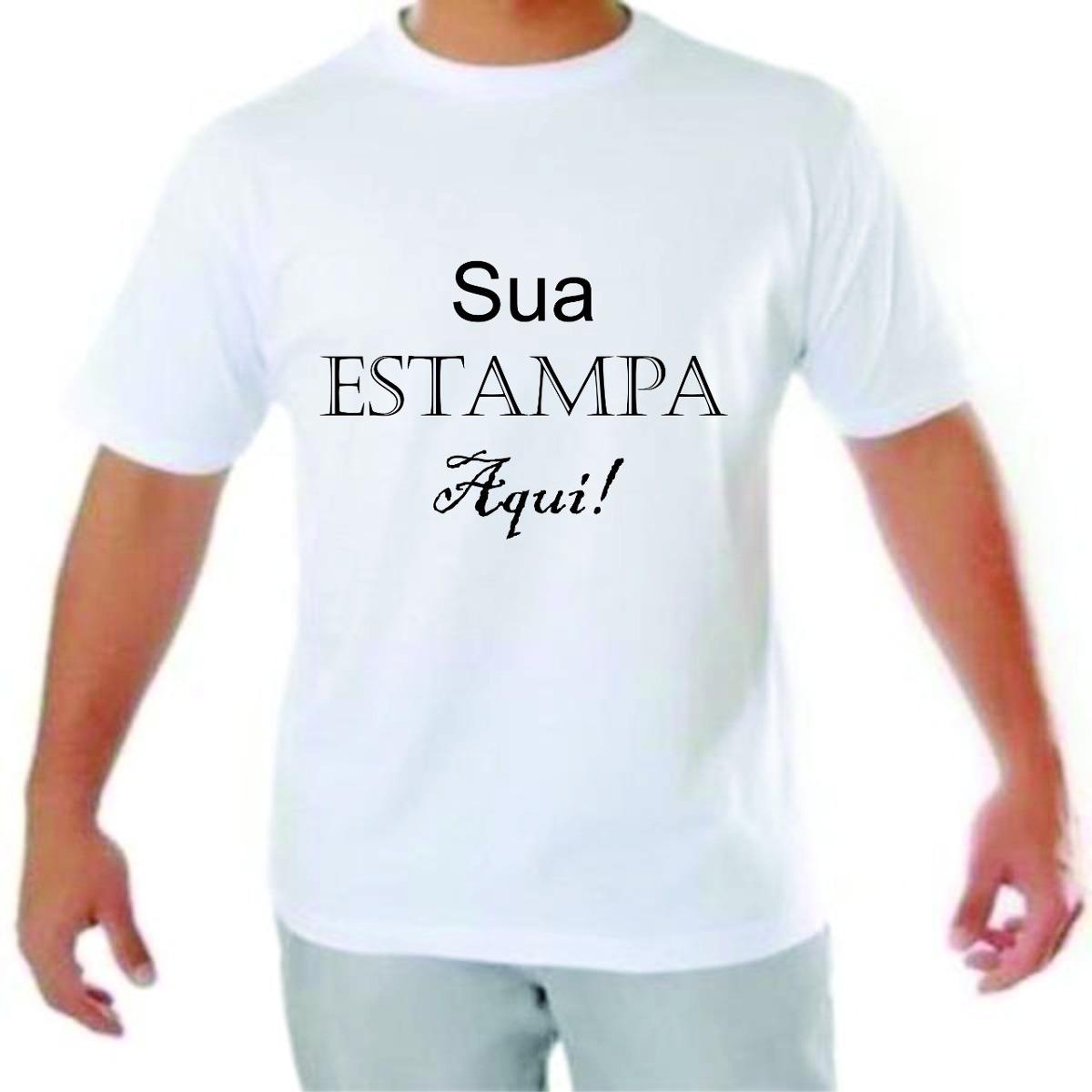 camisetas personalizadas sua estampa tamanho especial. Carregando zoom. 507506315cabb