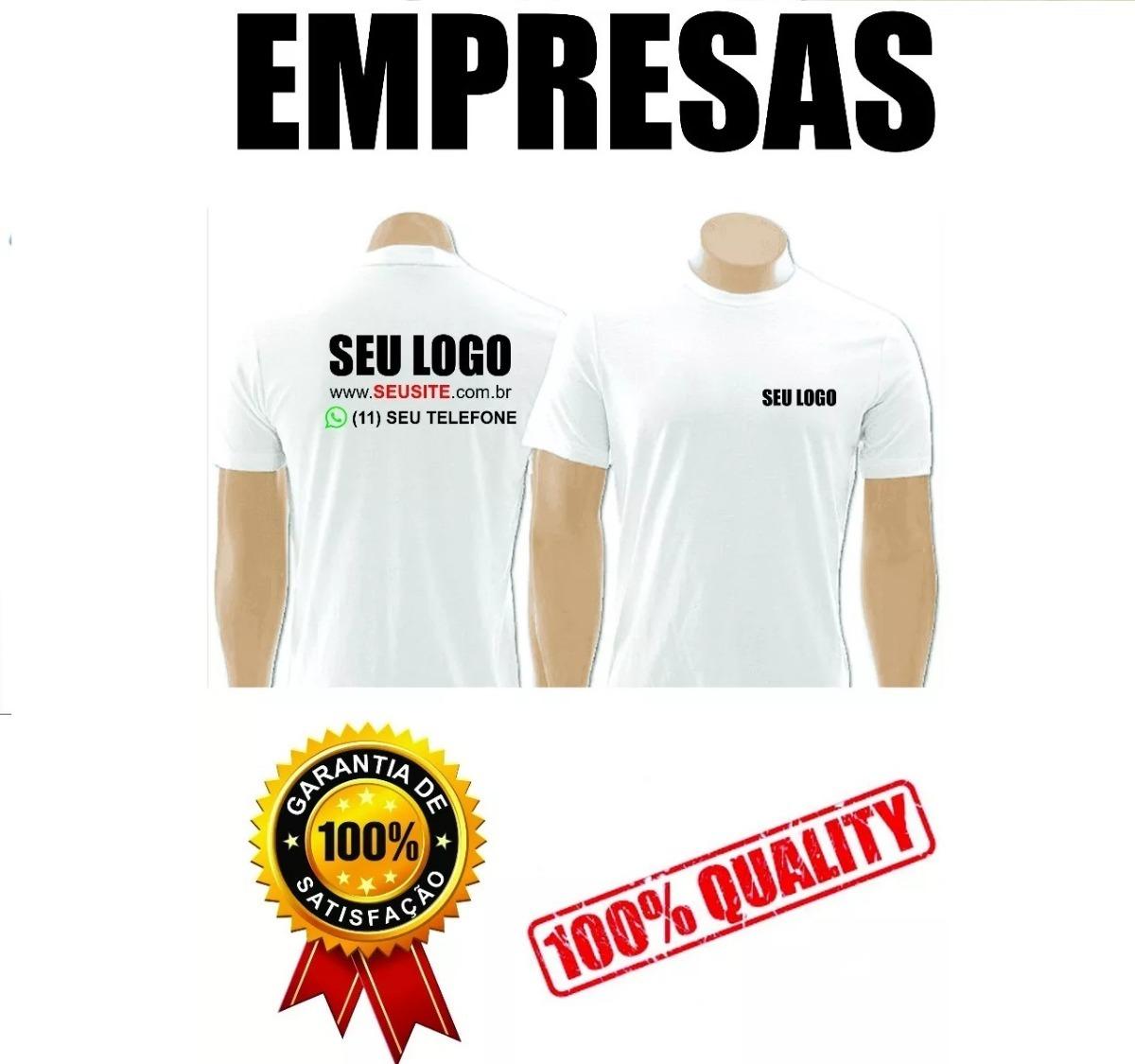 65af4dea83 camisetas personalizadas uniformes empresas com logo kit 3. Carregando zoom.