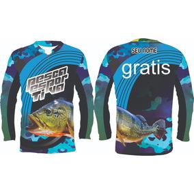 af98d48de Camisa Uv Csa - Pesca no Mercado Livre Brasil