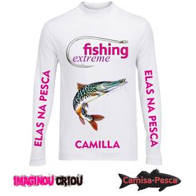 4b0a78c825332 Camisa Gringa Mussoumano - Pesca no Mercado Livre Brasil