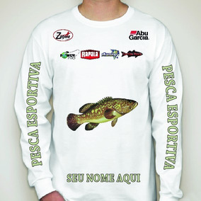 94e351ddf Decathlon Camisas - Pesca no Mercado Livre Brasil