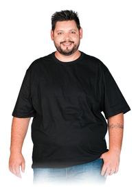 356dc0dff9dd Camisetas Plus Size Masculina Algodão Penteado Lisa Camisa · 5 cores