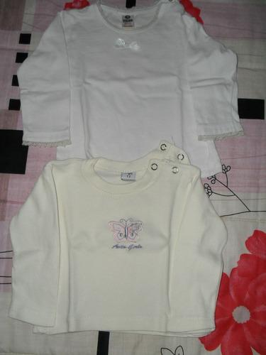 camisetas polera saquito jean zara-pappolino-beba 5-9 meses