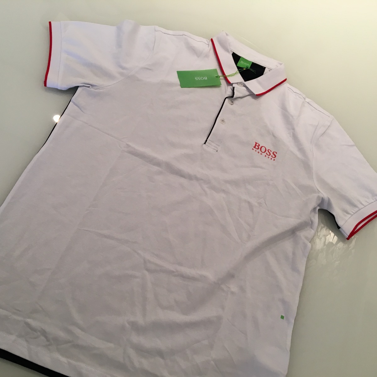 camisetas pólo - hugo boss - original - exclusiva. Carregando zoom. d2cf512c8c3