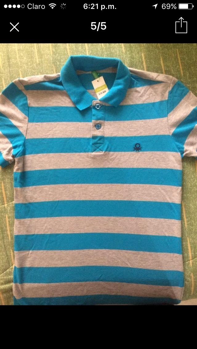 Camisetas Polo Marca Benetton Talla Xs -   55.000 en Mercado Libre e80493d4968