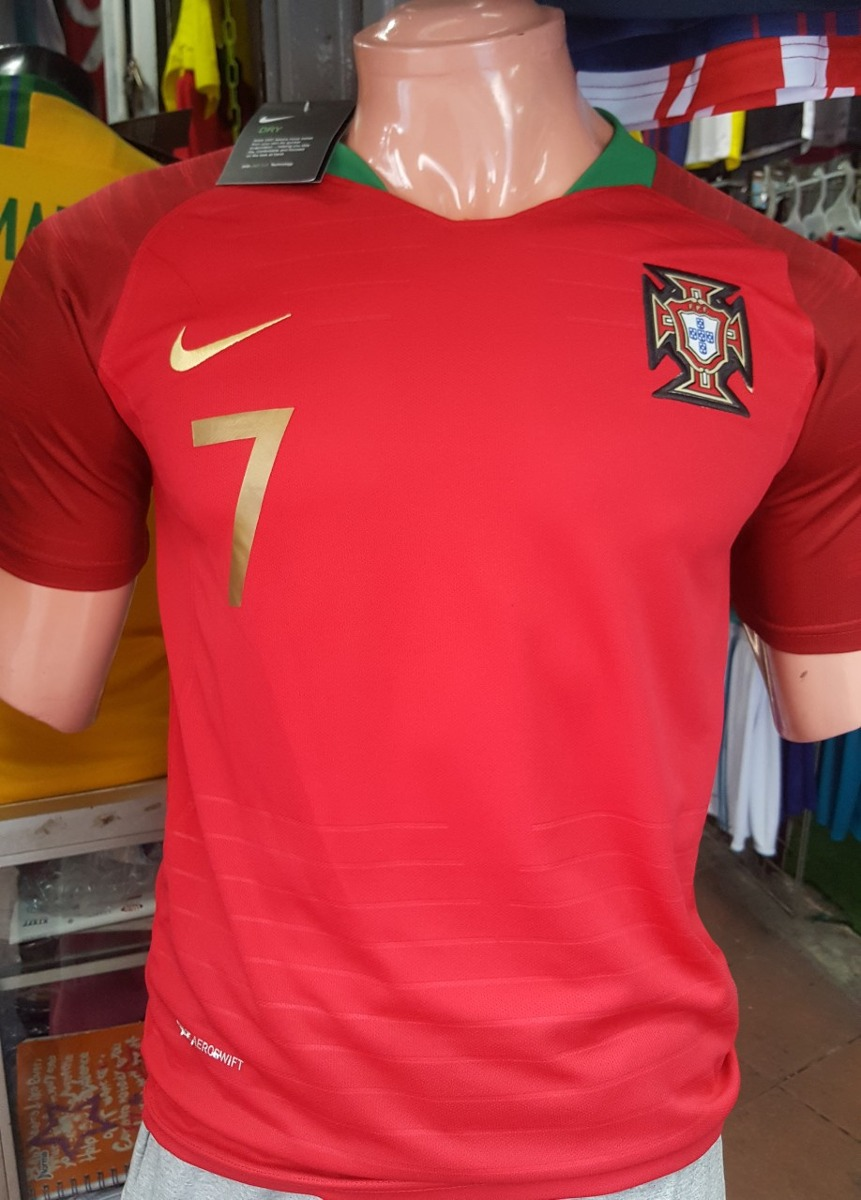 camisetas portugal mundial rusia 2018 ronaldo y sin numero. Cargando zoom. 29592e352e53a