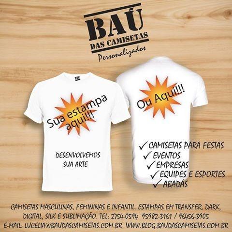 camisetas promocionais
