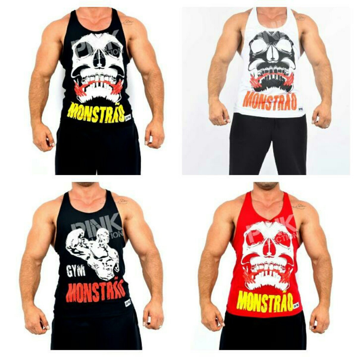 camisetas regata cavada diversos estilos. Carregando zoom. edceb2d2208